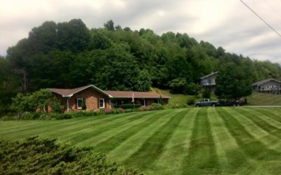 Spring is approaching and we are putting the care in Boone North Carolina lawn care!